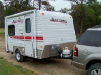 Sportsmen Classic Travel Trailer, Rear Closet, Toilet,