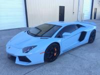 2012 Lamborghini Aventador. This beautiful car is ready