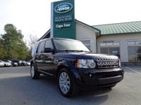 2012 Land Rover LR4 HSE LUX. One-Owner! Land Rover Cape