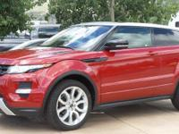 Clean CARFAX. 2012 Land Rover Range Rover Evoque Pure