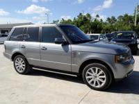 CARFAX One-Owner. Jet Leather. Silver 2012 Land Rover
