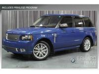 Exterior Color: autobiography blue, Body: SUV, Engine: