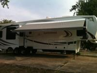 This RV is in perfect condition. used two times. It is