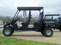 "2012 Landmaster 4WD ""Crewcab"" Utility Vehicles are now"