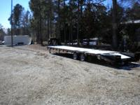 "Tandem Dual Gooseneck 102""x 35'plus 5'facility pop-up"