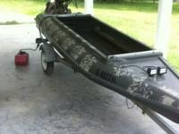 2012 four rivers layout duck watercraft with 14hp mud
