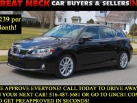 CLEAN CARFAX, ONE OWNER, NAVIGATION. The 2012 Lexus CT