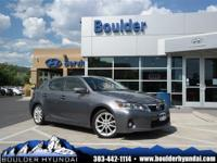 This good-looking 2012 Lexus CT is the rare family