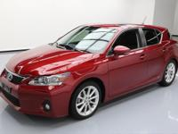 2012 Lexus CT 200h with 1.8L I4 gas/electric Hybrid
