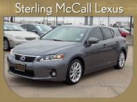 Sterling McCall Lexus presents this CARFAX 1 Owner 2012