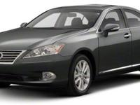 Dare to compare!! Isn't it time for a Lexus?** CARFAX