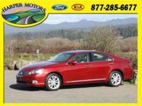 This outstanding example of a 2012 Lexus ES 350 is