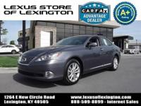 ONE OWNER LOCAL TRADE IN CARFAX CERTIFIED!! Lexus