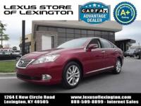 Lexus Certified, CARFAX Certified, One Owner, Excellent