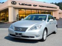 2012 Lexus ES 350 in Tungsten Pearl, SUNROOF /
