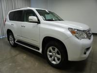 2012 Lexus GX White 460 6-Speed Automatic with