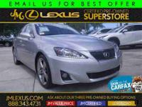You are currently viewing a 2012 Lexus IS 250 at our