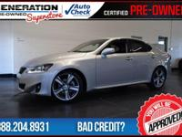 2012 Lexus IS. GPS Nav! Don't bother looking at any