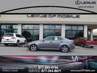 Climb inside this SMOKY GRANITE 2012 Lexus IS 250. This