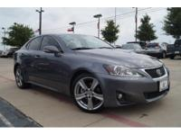 Climb inside the 2012 Lexus IS 250! Simply a great car!