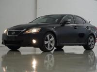 2012 Lexus IS 250 in Obsidian, This IS comes with
