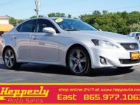 This 2012 Lexus IS 250 in Mercury Metallic features.