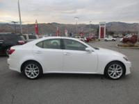 Options:  2012 Lexus Is 250 Base|Keyless Start| All