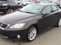 2012 Lexus IS 250. Lexus Certified and AWD. Come to the