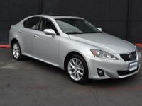 This 2012 Lexus IS 250 4dr 4dr Sport Sedan Automatic