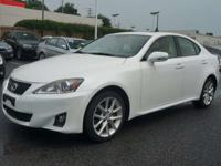 2012 Lexus IS 250 Navigation For Sale.Features:Keyless