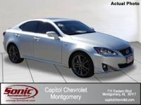 Local One Owner Trade In 2012 Lexus IS 250! Balance of
