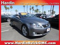 1 OWNER* POWER HARDTOP CONVERTIBLE* NAVIGATION DVD* AUX