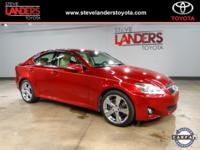 IS350, Power Sunroof, Remote keyless entry, Alloy