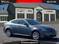 AWD. New Price! Gray 2012 Lexus IS 250 AWD 6-Speed
