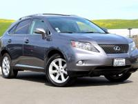 RX 350, 3.5L V6 DOHC Dual VVT-i 24V, FWD, and Light