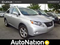 2012 Lexus RX 350 Our Location is: Lexus Palm Seaside -