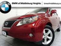 Only 30,992 Miles! This Lexus RX 350 boasts a Gas V6