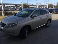 We are excited to offer this 2012 Lexus RX 350. When