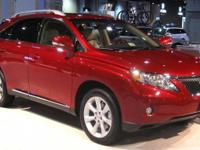 2012 Lexus RX 350. AWD and Parchment Leather. Portable