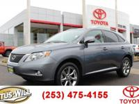 Just Reduced! Recent Arrival! AWD. 2012 Lexus RX 350