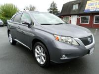 Options:  2012 Lexus Rx 350 Base Awd 4Dr Suv|Gray|One