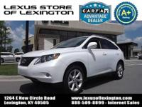 Lexus Certified, Local Trade In, CARFAX 1-Owner! KEY