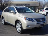 Options:  2012 Lexus Rx 450H|Satin Cashmere