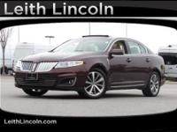 Lincoln Certified, CARFAX 1-Owner. NAV, Sunroof,