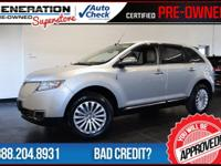 2012 Lincoln MKX. Silver Bullet! Don't wait another
