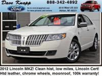 LINCOLN CERTIFIED*** Less than 24k Miles** For more