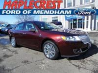 1 OWNER, CLEAN CARFAX. 4D Sedan, 6-Speed Automatic with