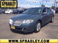 This outstanding example of a 2012 Lincoln MKZ is