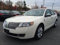 This lovely white 2012 Lincoln MKZ 263-hp, 3.5-liter