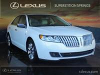 Clean CARFAX. CARFAX One-Owner. 2012 Lincoln MKZ